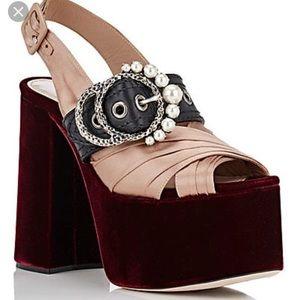 Miu Miu platform shoes